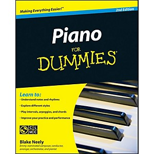 Mel-Bay-Piano-for-Dummies--Second-Edition-Book-CD-Set-Standard