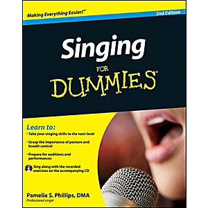 Mel-Bay-Singing-for-Dummies--2nd-Edition--Book-CD-Set-Standard