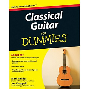 Mel-Bay-Classical-Guitar-for-Dummies--Book-CD-Set-Standard