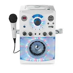The-Singing-Machine-Top-Load-Karaoke-System-with-Disco-Lights-White