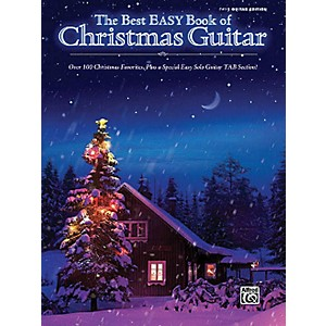 Hal-Leonard-The-Best-Easy-Book-Of-Christmas-Guitar-Easy-Guitar-Tab-Songbook-Standard