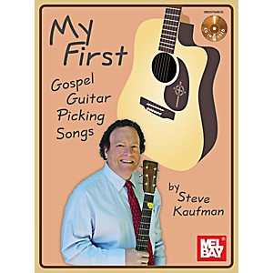 Mel-Bay-My-First-Gospel-Guitar-Picking-Songs-Book-CD-Set-Standard