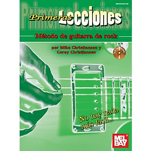 Mel-Bay-First-Lessons-Rock-Guitar--Spanish-Edition-Book-CD-Set-Standard