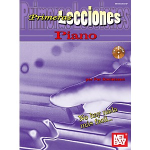 Mel-Bay-First-Lessons-Piano--Spanish-Edition-Book-CD-Set-Standard