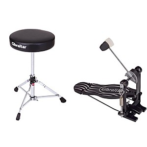 Gibraltar-Bass-Drum-Pedal---Drum-Throne-Package-Standard