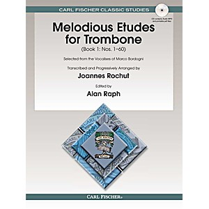Carl-Fischer-Melodious-Etudes-for-Trombone--Book-CD----Joannes-Rochut-BOOK-1