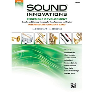 Alfred-Sound-Innovations-Concert-Band-Ensemble-Development-Timpani-Book-Standard