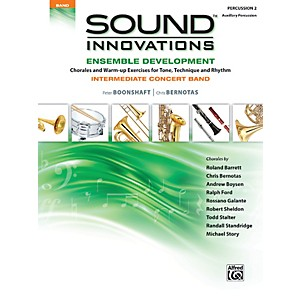 Alfred-Sound-Innovations-Concert-Band-Ensemble-Development-Percussion-2-Book-Standard