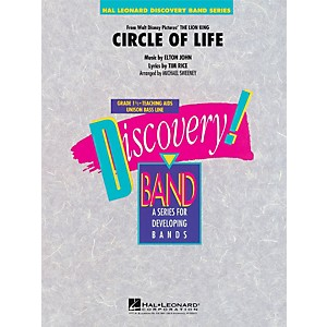 Hal-Leonard-Circle-Of-Life--From-The-Lion-King----Discovery--Band-Level-1-5-Standard