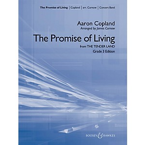 Hal-Leonard-The-Promise-Of-Living--from-The-Tender-Land----Boosey---Hawkes-Concert-Band-Grade-3-Standard