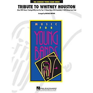 Hal-Leonard-Tribute-To-Whitney-Houston---Young--Band-Series-Level-3-Standard