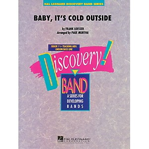 Hal-Leonard-Baby--It-s-Cold-Outside---Discovery--Band-Level-1-5-Standard