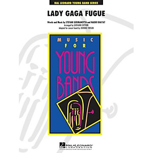 Hal-Leonard-Lady-Gaga-Fugue---Young-Band-Series-Level-3-Standard