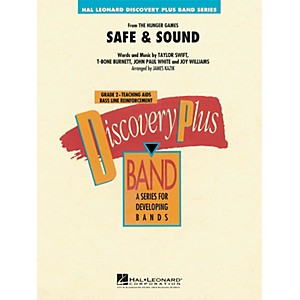 Hal-Leonard-Safe---Sound--From-Hunger-Games----Discovery-Plus--Band-Series-Level-2-Standard