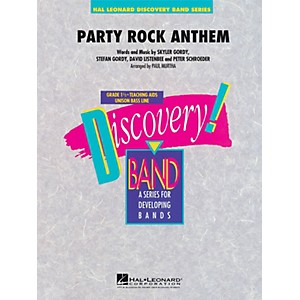 Hal-Leonard-Party-Rock-Anthem---Discovery--Band-Level-1-5-Standard