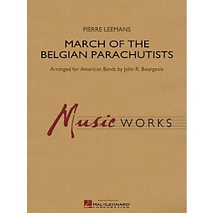 Hal-Leonard-March-Of-The-Belgian-Parachutists---Music-Works-Series-Grade-4-Standard