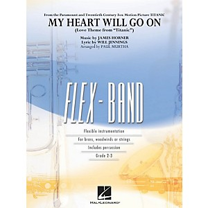 Hal-Leonard-My-Heart-Will-Go-On--Love-Theme-From-Titanic-----Flex-Band-Series-Standard