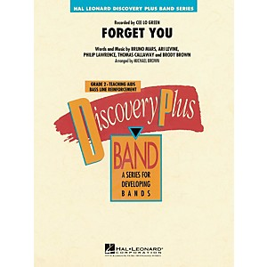 Hal-Leonard-Forget-You---Discovery-Plus--Band-Series-Level-2-Standard