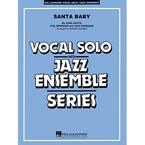 Hal-Leonard-Santa-Baby---Vocal-Solo-Jazz-Ensemble-Series-Level-4-Standard