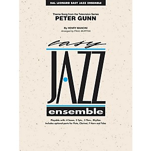 Hal-Leonard-Peter-Gunn---Easy-Jazz-Ensemble-Series-Level-2-Standard