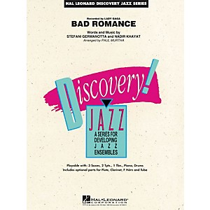 Hal-Leonard-Bad-Romance---Discovery-Jazz-Series-Level-1-5-Standard