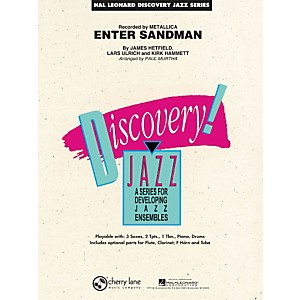Hal-Leonard-Enter-Sandman---Discovery-Jazz-Series-Level-1-5-Standard