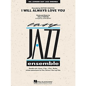 Hal-Leonard-I-Will-Always-Love-You---Easy-Jazz-Ensemble-Series-Level-2-Standard