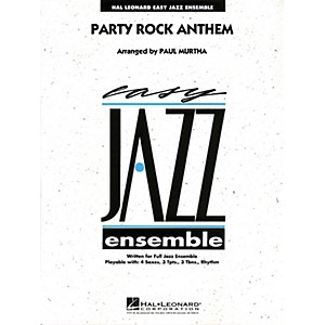 Hal-Leonard-Party-Rock-Anthem---Easy-Jazz-Ensemble-Series-Level-2-Standard