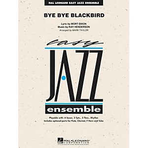Hal-Leonard-Bye-Bye-Blackbird---Easy-Jazz-Ensemble-Series-Level-2-Standard