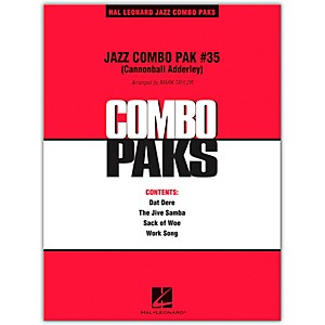 Hal-Leonard-Jazz-Combo-Pak--35--Cannonball-Adderley--Level-3-Standard