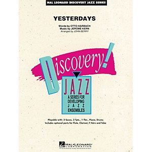 Hal-Leonard-Yesterdays---Discovery-Jazz-Series-Level-1-5-Standard