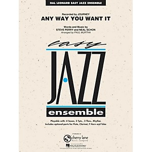 Hal-Leonard-Any-Way-You-Want-It---Easy-Jazz-Ensemble-Series-Level-2-Standard