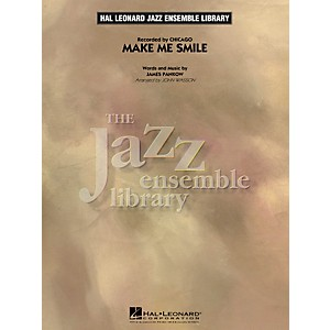 Hal-Leonard-Make-Me-Smile---The-Jazz-Essemble-Library-Series-Level-4-Standard