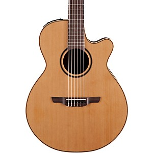 Takamine-Pro-Series-3-Folk-Nylon-Cutaway-Acoustic-Electric-Guitar-Natural