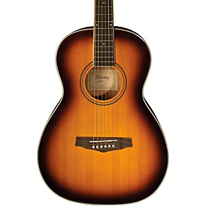 Ibanez-PN15-Parlor-Size-Acoustic-Guitar-Brown-Sunburst