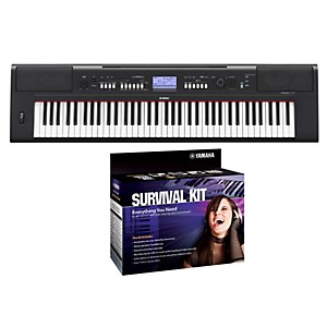 Yamaha-NPV60-76-Key-Piaggero-Portable-Digital-Piano-with-Yamaha-D2-Survival-Kit-Standard