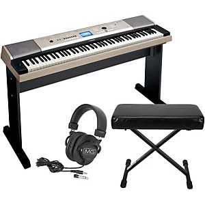 Yamaha-YPG-535-88-Key-Portable-Grand-Piano-Keyboard-w--Bench-and-Headphones-Standard