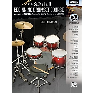 Alfred-On-the-Beaten-Path-Beginning-Drumset-Course-Complete-Book---DVD-ROM-Standard