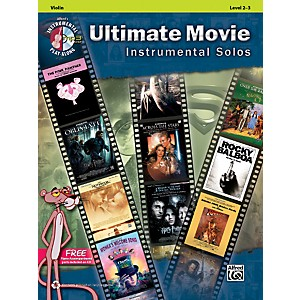 Alfred-Ultimate-Movie-Instrumental-Solos-for-Violin-Book---CD-Standard
