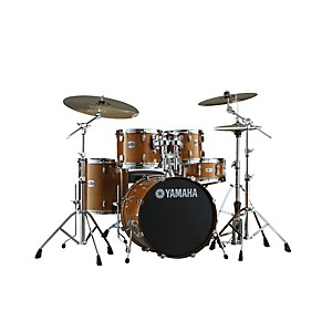 Yamaha-2013-Stage-Custom-Birch-5-Piece-Drum-Set-with-20--Bass-Drum-Honey-Amber