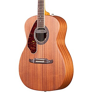 Fender-Tim-Armstrong-Left-Handed-Deluxe-Acoustic-Electric-Guitar-Natural