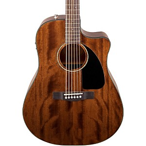 Fender-CD60CE-All-Mahogany-Acoustic-Electric-Guitar-Natural