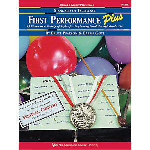 KJOS-First-Performance-Plus-Drums---Mallet-Percussion-Book-Standard