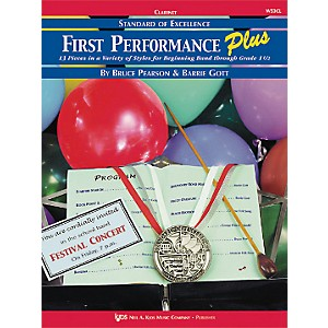KJOS-First-Performance-Plus-1st-2nd-Bflat-Clarinet-Book-Standard