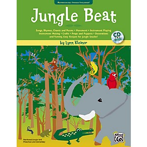 Alfred-Jungle-Beat-Book---CD-Standard