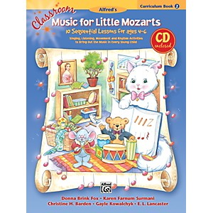 Alfred-Classroom-Music-for-Little-Mozarts-Curriculum-Book-2---CD-Standard
