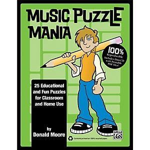 Alfred-Music-Puzzle-Mania-Book---CD-Standard