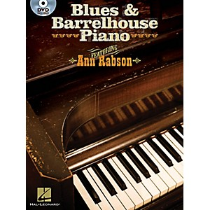 Hal-Leonard-Blues---Barrelhouse-Piano---Book-DVD-Standard