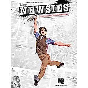 Hal-Leonard-Newsies---Music-From-The-Broadway-Musical-for-Piano-Vocal-Guitar-Songbook-Standard