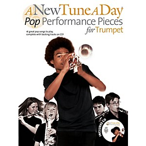 Music-Sales-A-New-Tune-A-Day---Pop-Performance-Pieces-For-Trumpet-Book-CD-Standard